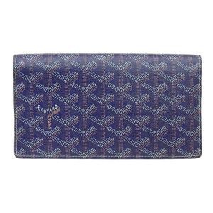 Goyard Goyar GO YARD Folded long wallet 紺 series APM205