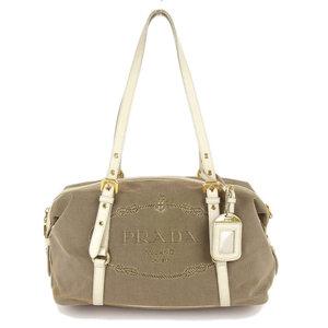 Prada PRADA Jacquard logo shoulder bag BL0600