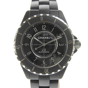 Chanel CHANEL J12 Men's Automatic Watch Black Dial H3131