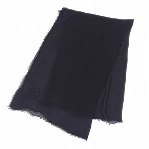 Chanel CHANEL 2009 Products Christmas Limited Coco Mark Modal Cashmere Large Stole 140 × 100cm Shawl Customers Only