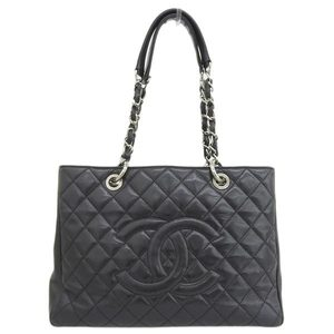 Genuine CHANEL Chanel caviar reproduction chain tote bag SV bracket 15 series leather
