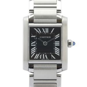 Cartier Tank Francaise Quartz Stainless Steel Women's Luxury Watch W51026Q3