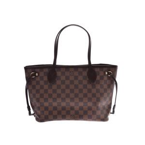 ルイ・ヴィトン(Louis Vuitton) ルイヴィトン ダミエ ネヴァーフルPM ブラウン N51109 旧型 レディース 本革 ハンドバッグ Aランク LOUIS VUITTON 中古 銀蔵