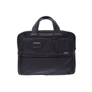 カラー(COLOR)(COLOR) トゥミ アルファ3 ブリーフケース 黒 メンズ ナイロン 2WAYビジネスバッグ 未使用 美品 TUMI ストラップ 中古 銀蔵