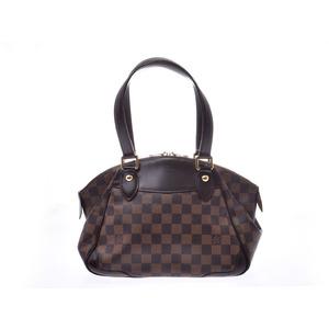 Louis Vuitton Damier Verona PM Brown N41117 Ladies Genuine Leather Handbag B Rank LOUIS VUITTON Used Ginzo