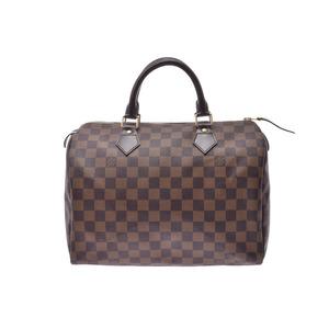 ルイ・ヴィトン(Louis Vuitton) ルイヴィトン ダミエ スピーディ30 ブラウン N41364 レディース 本革 ハンドバッグ Aランク LOUIS VUITTON 中古 銀蔵