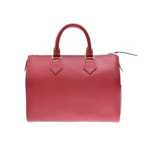 ルイ・ヴィトン(Louis Vuitton) ルイヴィトン エピ スピーディ25 赤 M43017 レディース 本革 ハンドバッグ Aランク 美品 LOUIS VUITTON 中古 銀蔵