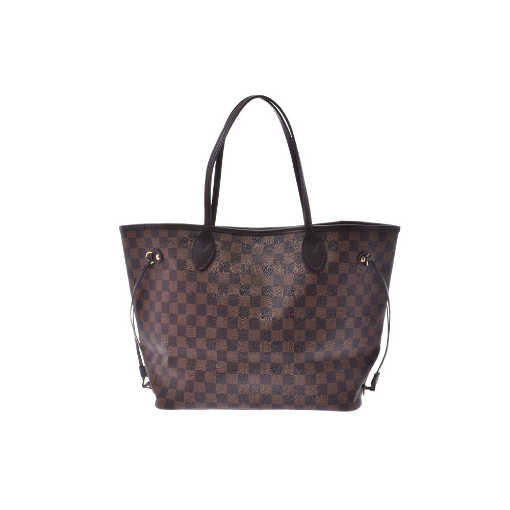 ルイ・ヴィトン(Louis Vuitton) ルイヴィトン ダミエ ネヴァーフルMM ブラウン N51105 旧型 レディース 本革 バッグ Aランク 美品 LOUIS VUITTON 中古 銀蔵