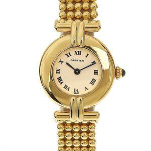 CARTIER Cartier Mast Collise 18K 750YG Ladies Quartz Wrist Watch 2925