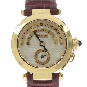 CARTIER Pasha Night & Day Back Skelton Mens Automatic Watch