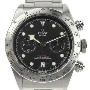 TUDOR Heritage Black Bay Steel Automatic Mens  Watch 79350