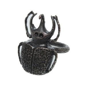 Bottega Veneta Beetle Ring No. 13 Silver 925 Cicada Insect Accessory 0133 BOTTEGAVENETA