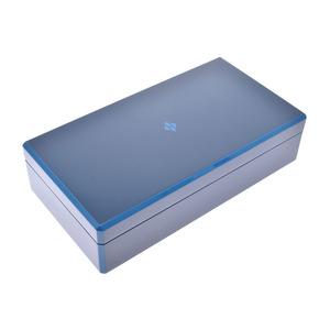 エルメス ファセット ネクタイボックス インディゴブルー メンズ ラッカーウッド ネクタイ収納ケース 新品 HERMES 箱 銀蔵