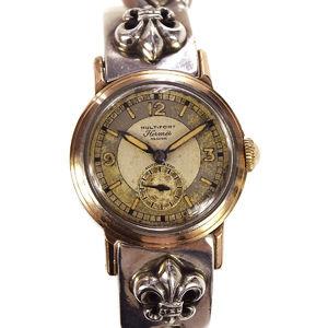 エルメス(Hermes) 手巻き ユニセックス 高級時計 クロムハーツ コラボレーション