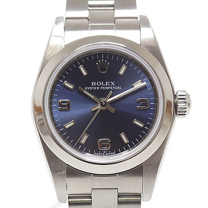 ROLEX Oyster Perpetual 76080 F Serial Automatic Ladies Watch