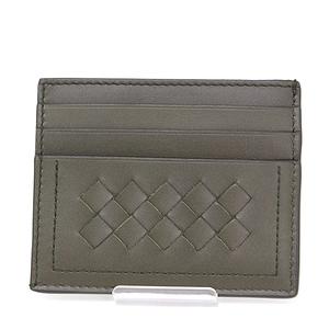 Bottega Veneta BOTTEGA VENETA Mustard Intrechart VN card case calf / sheep leather 547880V465Y2409