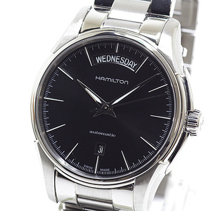 HAMILTON Mens Watch Jazz Master Day Date H32505131 Black (Black) Dial Automatic