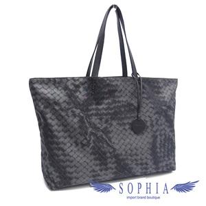 Bottega Veneta Intrecio Revolution Tote Bag Gray 20191004 1