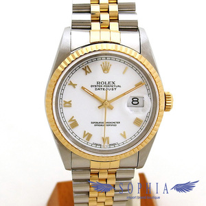 Rolex Datejust 16233 White Dial S number 20191009