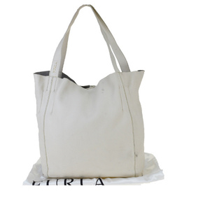Furla leather tote bag ivory 03ga140