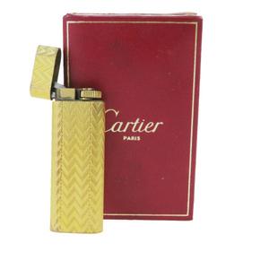 Cartier cigarette lighter Gold Oval 03GA120
