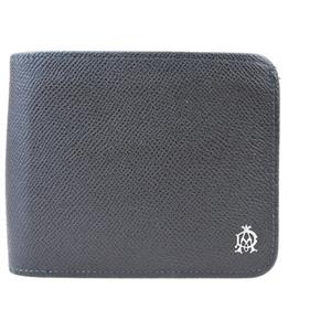 ダンヒル(Dunhill) メンズ  型押しレザー 財布(二つ折り) ブラウン 06GA025