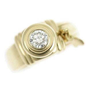 Genuine K18 diamond (unknown stone) ring 10.5 No. 12.1g