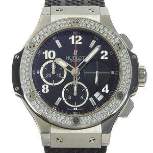 Genuine HUBLOT Hublot Big Bang Diamond Bezel Men's Automatic Watch 341.SX.130.RX