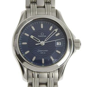 Genuine OMEGA Omega Seamaster 120m Ladies Quartz Watch 2571.81