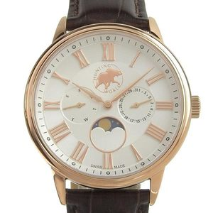 Genuine HUNTING WORLD Hunting World Moon Phase Men's Quartz Watch HWM010