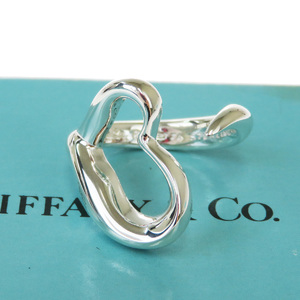 ティファニー(Tiffany) オープン・ハート サイズ 5 スターリングシルバー925 アニバーサリーリング シルバー