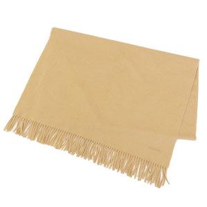 Hermes HERMES cashmere large format shawl beige * ETC