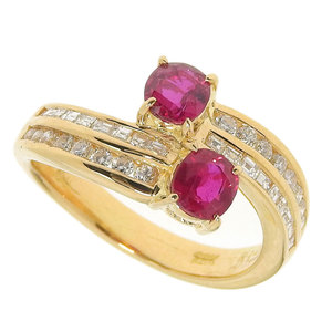 4°C No brand OTHER BRAND ring ruby 1.03ct mere diamond 0.57ct 6.4g 12.5
