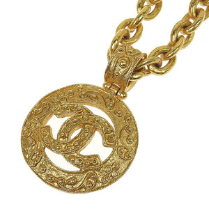 Chanel Necklace Coco Mark 04A