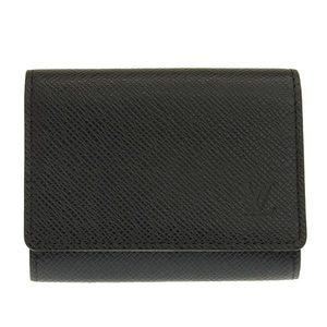 Genuine LOUIS VUITTON Louis Vuitton Taiga Envelop cult debit card case Aldoise M30922