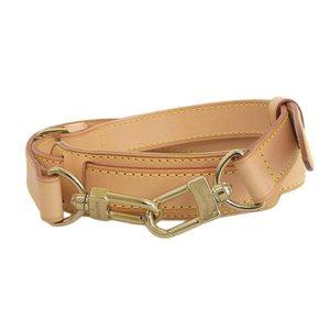 Genuine LOUIS VUITTON Louis Vuitton Nume leather shoulder strap