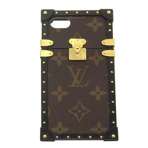 Genuine LOUIS VUITTON Louis Vuitton monogram eye trunk iphone7 M64479