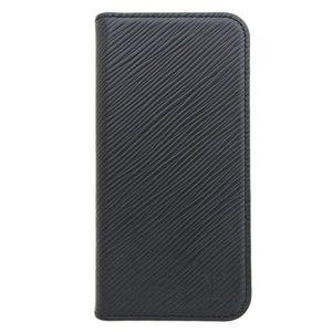 Genuine LOUIS VUITTON Louis Vuitton Epi Folio iPhoneX Case Noir M64469