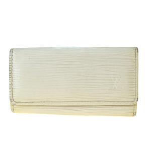 Louis Vuitton Epi Multicles M6382J Leather Key Case Ivory