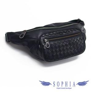 Bottega Veneta Intrechart Body Bag Black 20191106