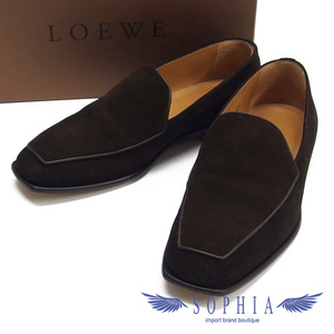 Loewe Loafers Moccasins Men's Shoes Dark Brown 20190822 2-SS201912