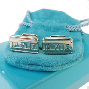 Tiffany Atlas Silver 925 Tie Pin Silver