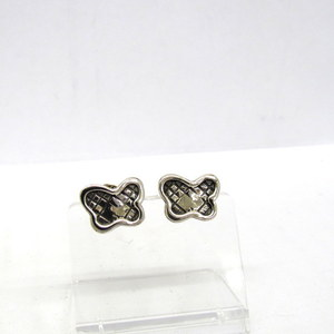 Bottega Veneta earrings silver butterfly accessories with bag