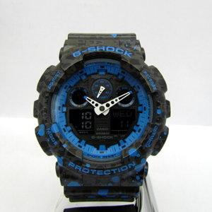 CASIO G-SHOCK GA-100ST-2AJR STASH Stash collaboration double name tie-up analog digital quartz Watch