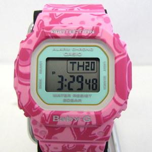 CASIO Baby-G BGD-560SLG-4JR Shichifukujin Benzaiten SHICHI-FUKU-JIN Pink Jade Jewel Square Digital quartz Watch