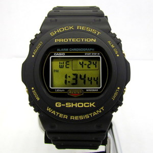 CASIO G-SHOCK DW-5735D-1BJR Sting 35th Anniversary 35TH ANNIVERSARY LIMITED ORIGIN GOLD Origin Gold Screw Back Black Digital quartz Watch