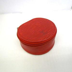 LOUIS VUITTON Louis Vuitton Mini Jewelry Case Ekran Bijoux 8 M48227 Epi Red Accessory Multi Ladies Men 353974 RYB3615