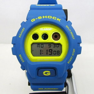 G-SHOCK G-Shock CASIO Casio Watch DW-6900FS XLARGE Extra Large Collaboration Double Name Third Eye Round Face Blue Yellow Men's Casual 365090 RY1763
