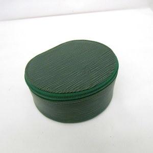 LOUIS VUITTON Accessory Case Ekran Bijou 12 M48204 Epi Green LV Multi Accessories Jewelry Ladies 375242 RYB4490