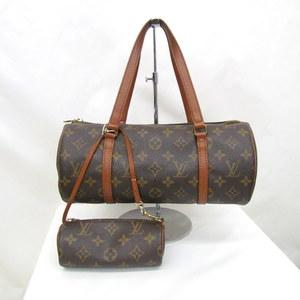 LOUIS VUITTON Louis Vuitton handbag papillon GM M51365 monogram brown tubular lady's bag 361931 RYB3829